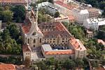 Emauzský klášter.