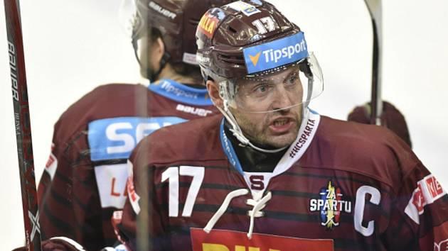 Kapitán Sparty Jaroslav Hlinka.