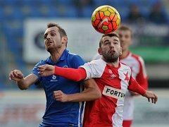 16. kolo první fotbalové ligy: FC Slovan Liberec - SK Slavia Praha 2:1 (0:1).
