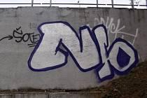O středečním dopadení muže sprejujícího na zeď u podchodu vedoucího od tramvajové zastávky nedaleko Modřanské rokle informovala městská policie na počátku víkendu.