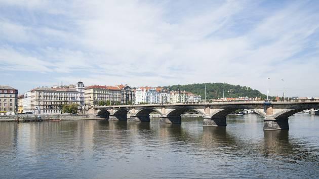 Opravy pražských mostů, Palackého most, 15.8.2017