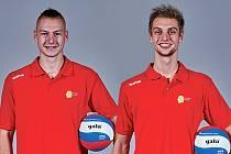 Naděje. Miroslav Drozen (vlevo) a Jan Svoboda.
