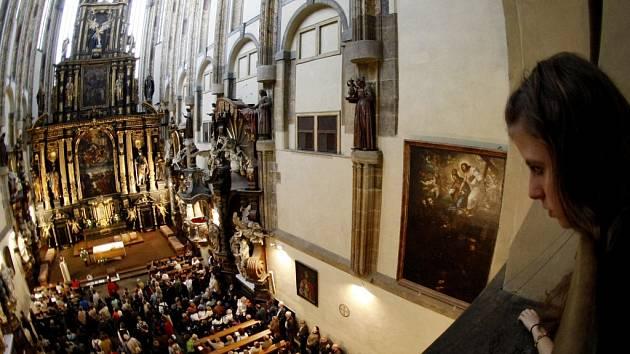 Noc kostelů v Praze. Ilustrační foto.