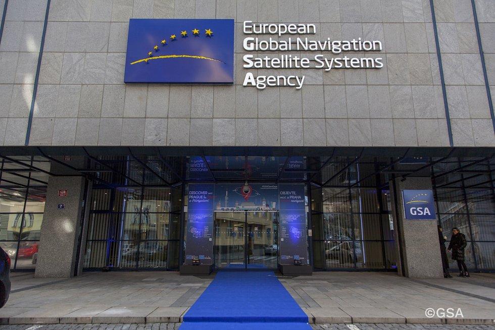 Centrála GSA v Praze.