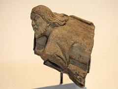 Fragment reliéfu Krista.