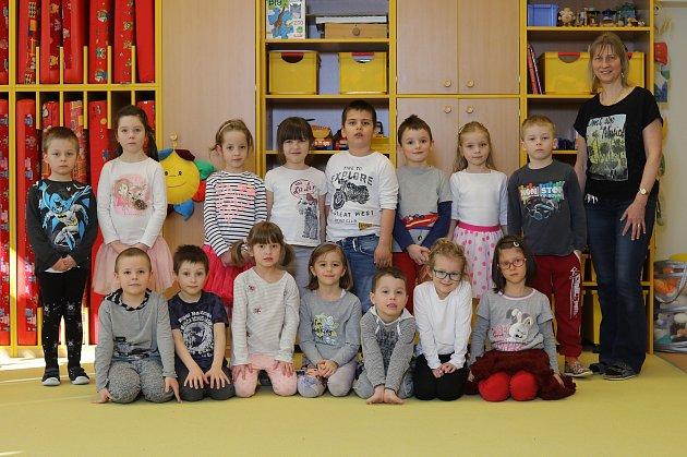 MŠ Tyršova - Barevná třída, učitelka Blanka Johnová.