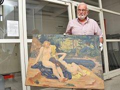 Do úschovy Národní galerii v Praze předali kriminalisté obraz Koupání od Jana Preislera, který se podařilo najít poté, co dílo bylo 19 let nezvěstné. Ukradeno bylo v srpnu roku 1996 z výstavy na Chrudimsku.
