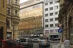 Revoluční ulice před rekonstrukcí.