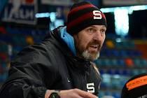 Jaroslav Nedvěd na lavičce Sparty.