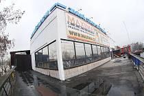 Stadion na Štvanici.