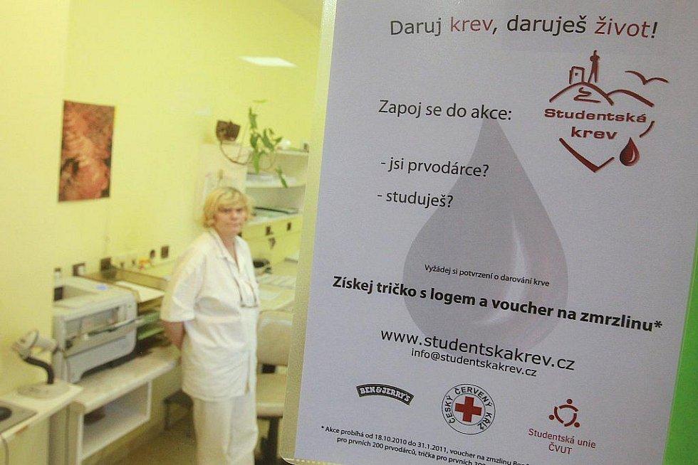Transfúzní oddělení vinohradské nemocnice.