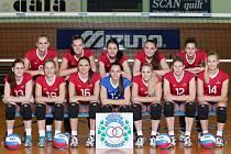 DRUHÝ NEJLEPŠÍ ženský volejbalový oddíl republiky Olymp Praha.