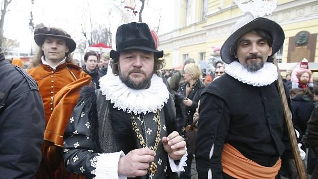 Na slavnostech Dnů Prahy 1 nemohla chybět Jeho císařská milost Rudolf II.