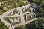 Botanická zahrada - expozice mediteránu.