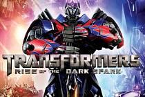 Počítačová hra Trasnformers: Rise of the Dark Spark.