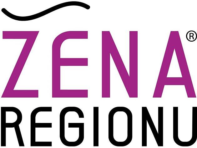 Logo soutěže Žena regionu.