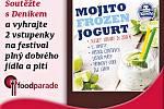 Soutěžte s Deníkem a vyhrajte dvě volné vstupenky s konzumací na festival jídla a pití Foodparade na zámku v pražské Troji.