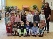 Naši předškoláci - MŠ Nad Palatou - 3.třída, učitelka a ředitelka školy Bc. Pavla Vocelková.