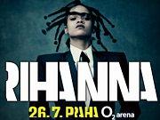 Koncert Rihanny v Praze.