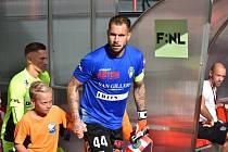 Fotbalový brankář Milan Švenger, opora FK Viktoria Žižkov.