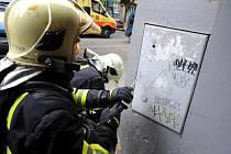 Výbuch plynu na Žižkově.