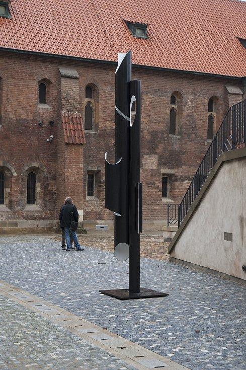 Anežský klášter 25. října v Praze.