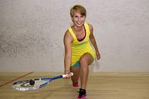 USMÍVÁ SE. Světlá budoucnost se otevírá před talentovanou českou squashistkou Eliškou Jiráskovou.