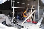 Kobky na náplavkách procházejí rekonstrukcí.