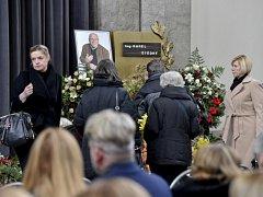 Poslední rozloučení s Karlem Štědrým.