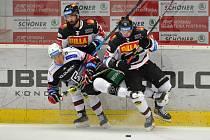 HC Energie Karlovy Vary - HC Sparta Praha. Utkání 29. kola hokejové extraligy.