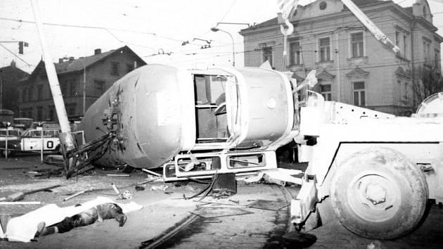 Tramvajová tragédie v Praze: Gejzír jisker, oblaka prachu. Rachot. A ticho