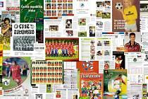 Dobové materiály z výstavy Zlaté časy fotbalu