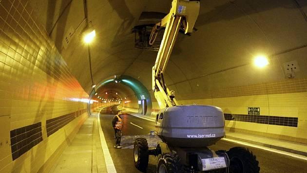 Tunelový komplex Blanka 30. září