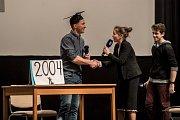 Finále soutěže Zlatý Ámos 2017onejoblíbenějšího učitele probíhalo 24.března vPraze.