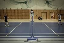 Hasiči a zaměstnanci hasičského sboru se utkali v badmintonu