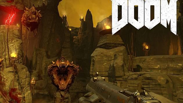 Počítačová hra Doom.