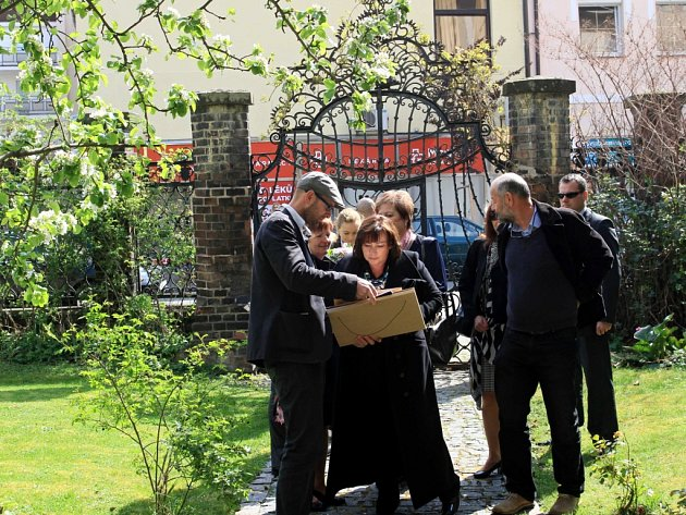 Druhý den se první dám podívala do Poděbrad k vile Vojtěcha Obereignera.