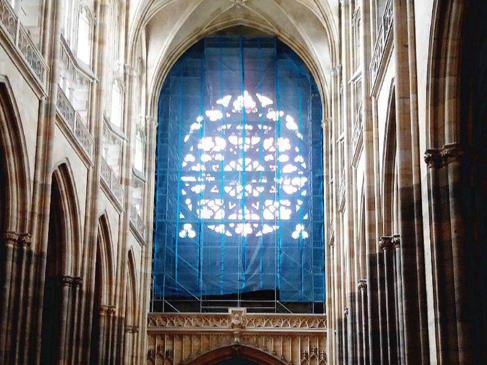 Nové varhany budou instalovány do západní kruchty ve svatovítské katedrále.