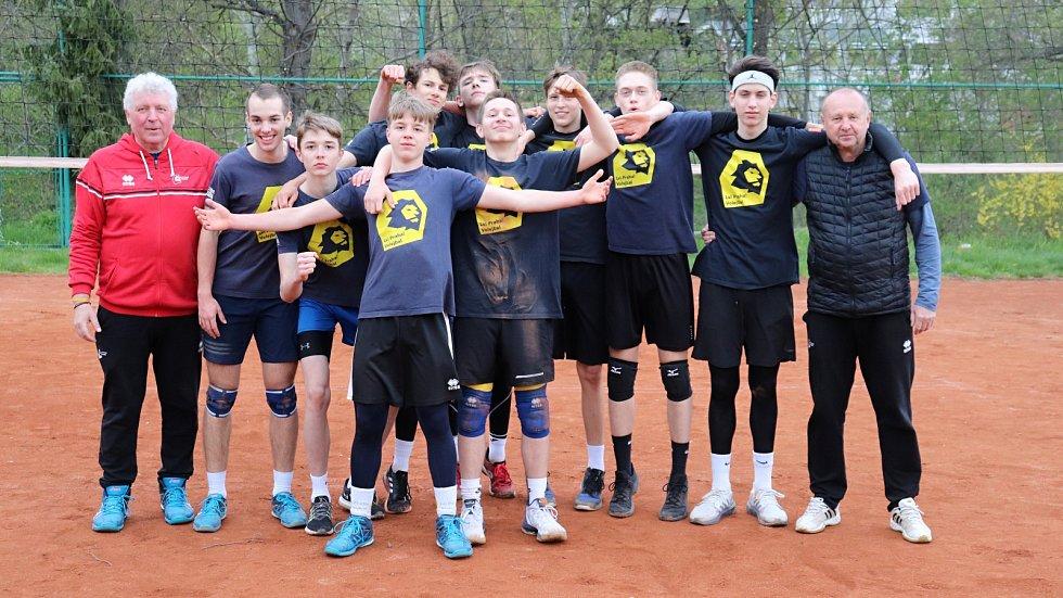 Kadeti VK Lvi Praha trénovali v Braníku.