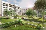 Nabídka nového bydlení na severním okraji Zahradního Města se rozroste o bezmála 140 bytů.
