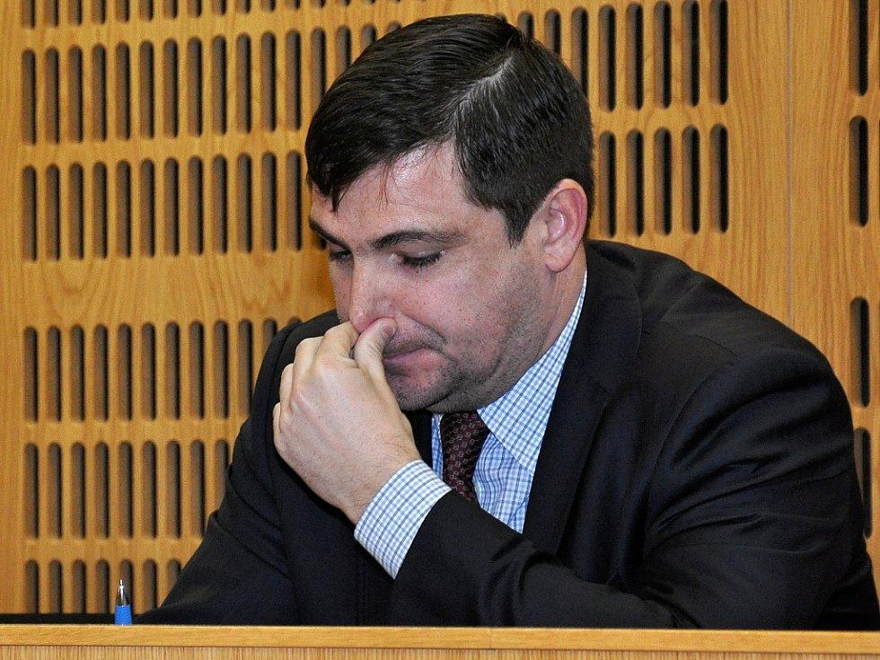 Nejvlivnější pražský sociální demokrat Karel Březina v soudní síni.
