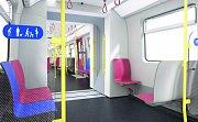 Vizualizace nového metra.