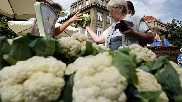 Farmářské trhy. Ilustrační foto.