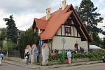 O minulém víkendu bylo možné navštívit Trmalovu vilu v Praze 10 – Strašnicích. Foto: MARTIN STEHLÍK