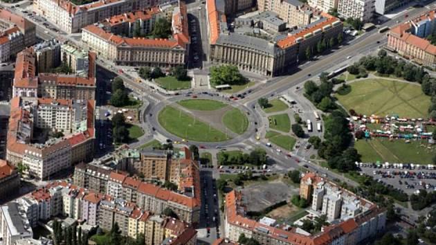 Vítězné náměstí.