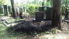 Na pražských hřbitovech platí zákaz zapalování svíček.