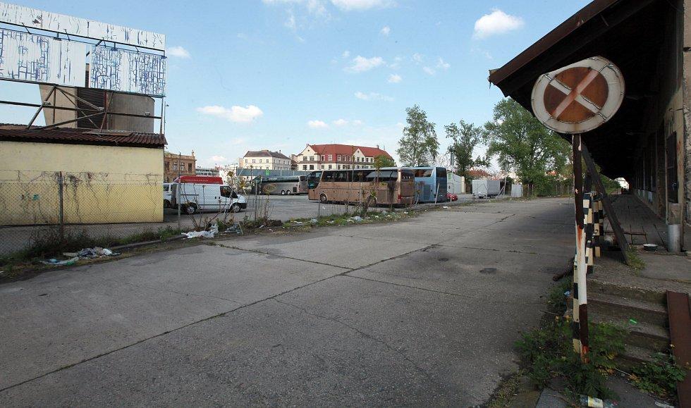 Masarykovo nádraží a okolí.