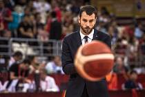 Basketbalový trenér Jan Pospíšil.