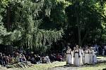 Představení opery Bedřicha Smetany Libuše při příležitosti oslav 90. výročí Prahy 6 proběhlo 4. září v Divoké Šárce v Praze.