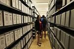 Den otevřených dveří v Archivu bezpečnostních složek. Ilustrační foto.